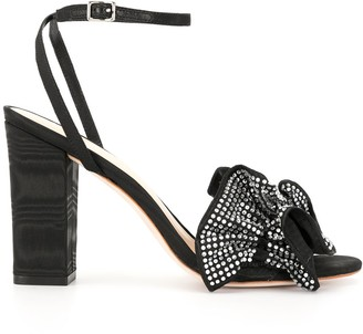 Loeffler Randall Savannah crystal-embellished sandals