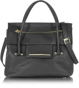 Francesco Biasia Nora Hammered Leather Satchel Bag