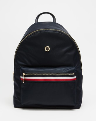 Tommy Hilfiger Women's Navy Backpacks - Poppy Backpack - Size One Size at The Iconic