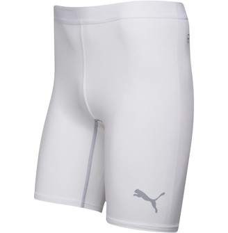 Puma Mens Power Cell Tight Shorts White