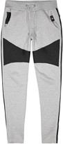 Philipp Plein Grey Panelled Jogging Trousers