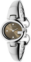 Gucci Women's Swiss Guccissima Stainless Steel Bangle Bracelet Watch 27mm YA134503