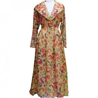 Ted Lapidus Multicolour Silk Dress for Women Vintage