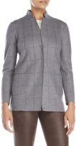 Fabiana Filippi Wool Grid Jacket