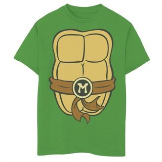 Nickelodeon Boys 8-20 Graphic Teenage Mutant Ninja Turtles Michelangelo Body Graphic Tee