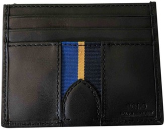 Polo Ralph Lauren Black Leather Small bags, wallets & cases