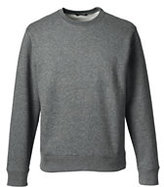 Classic Men's Crew Sweatshirt-White
