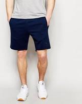 Reebok Jersey Shorts In Blue Ak0639