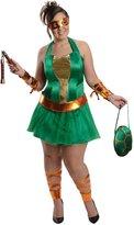 Rubie's Costume Co Costume Nickelodeon-Size Ninja Turtles Michelangelo Dress
