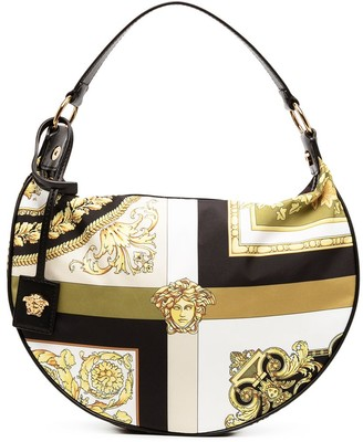 Versace Medusa Head hobo bag