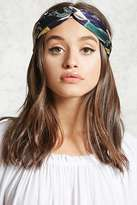 Forever 21 FOREVER 21+ Equestrian Print Headwrap
