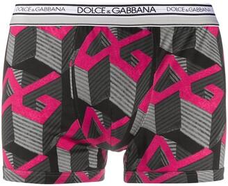 Dolce & Gabbana 3-D logo print boxers