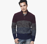 Johnston & Murphy Ombré Stripe Sweater