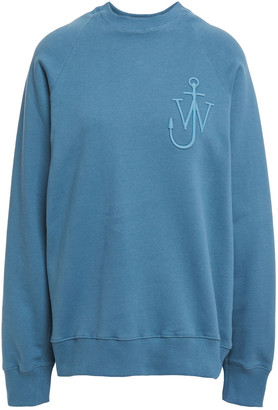 J.W.Anderson Embroidered Cotton-fleece Sweatshirt