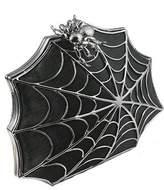 Bernard Delettrez Black pony hair spider web clutch