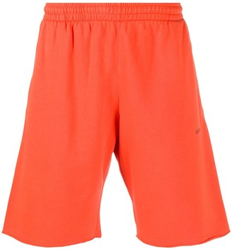 Off-White Sprayed Arrows track shorts