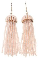Charlotte Russe Beaded Tassel Earrings