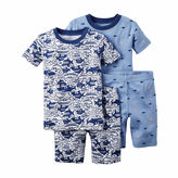 Carter's 4-pc. Shark Pajama Set - Toddler Boys 2t-5t