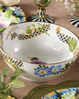Mackenzie Childs MacKenzie-Childs Thistle & Bee Serving Bowl