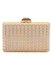 Kate Landry Glitter Cage Frame Clutch