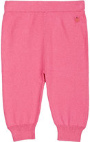 The Bonnie Mob Stockinette-Stitched Stretch Organic Cotton Pants-PINK