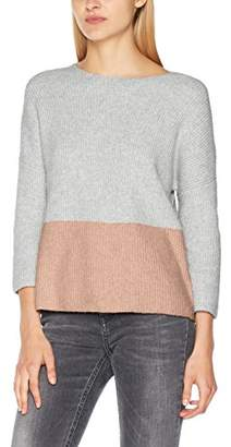 Only Women's Onlcelia Rib 3/4 Pullover KNT Jumper,(Size: Medium)