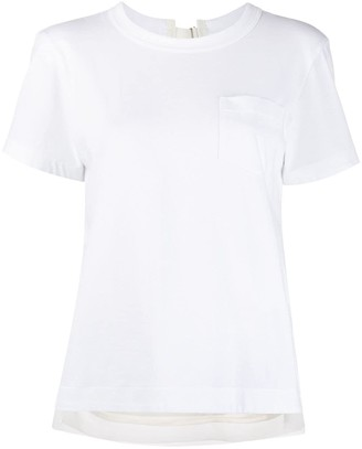 Sacai rear keyhole T-shirt