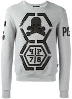 Philipp Plein Reliable sweatshirt - men - Cotton/Spandex/Elastane - M