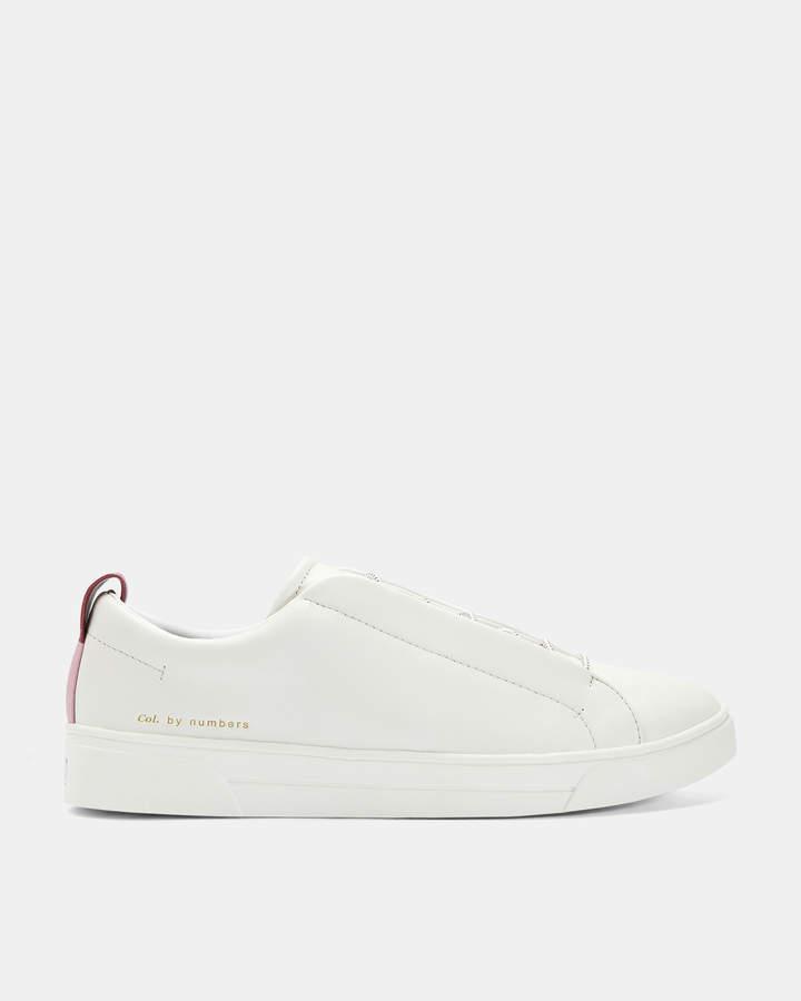 55d6f3ecb7c09 DECKOLL Elastic lace sneakers