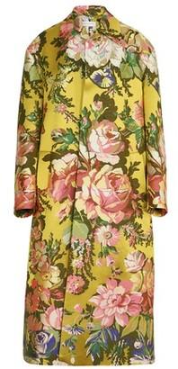 Dries Van Noten Jacquard coat