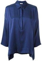 P.A.R.O.S.H. front placket shirt - women - Silk/Spandex/Elastane - L