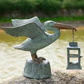 Pelican Statue with Lantern