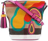 Burberry MN Ashby crossbody bag - women - Cotton - One Size