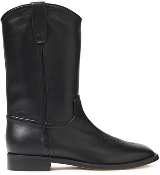 Alberta Ferretti Leather Boots