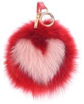 Fendi Pompom fox fur bag charm