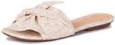 Schutz White Bow Sandal
