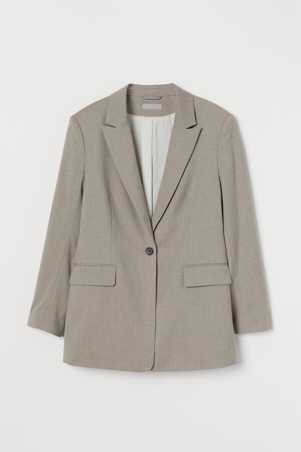 Thumbnail for your product : H&M Single-breasted Blazer - Brown