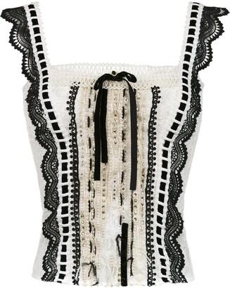 Martha Medeiros Anne lace blouse