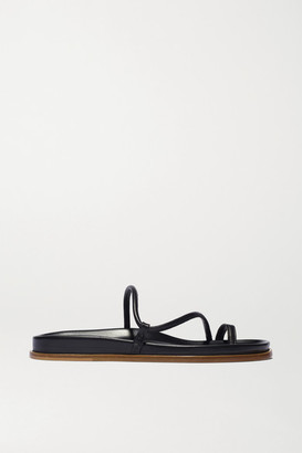 Emme Parsons Bari Leather Sandals - Black