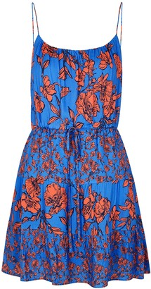 Alice + Olivia Cheyla floral-print mini dress