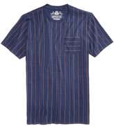 American Rag Men's Geometric Striped T-Shirt, Created for Macy's