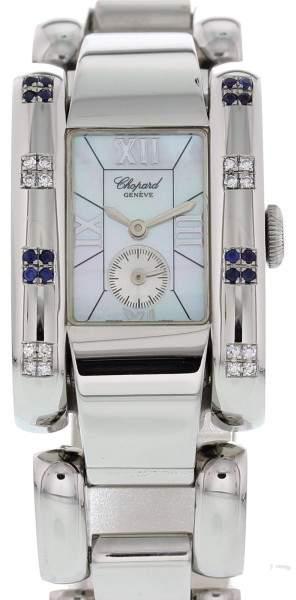Chopard La Strada 41/8380 Stainless Steel Diamond and Sapphire 24mm Watch