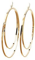 Charlotte Russe Double Hoop Oversize Earrings