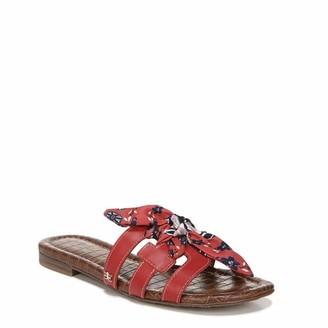 Sam Edelman Womens Bay Slide Sandal Cherry/Cherry Multi 8.5 M