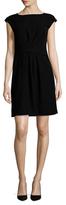Armani Collezioni Side Tie A-Line Dress