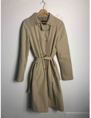 Fay Beige Cotton Jacket for Women