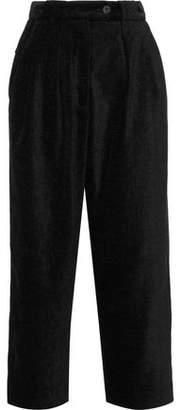 McQ Cropped Canvas Wide-leg Pants