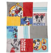 Disneyjumping beans Disney/Jumping Beans Mickey Plush Throw