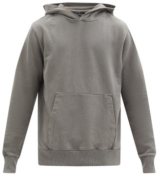 Ksubi Seeing Lines Cotton-jersey Hooded Sweatshirt - Grey