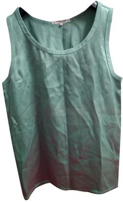 Saint Laurent Green Synthetic Tops